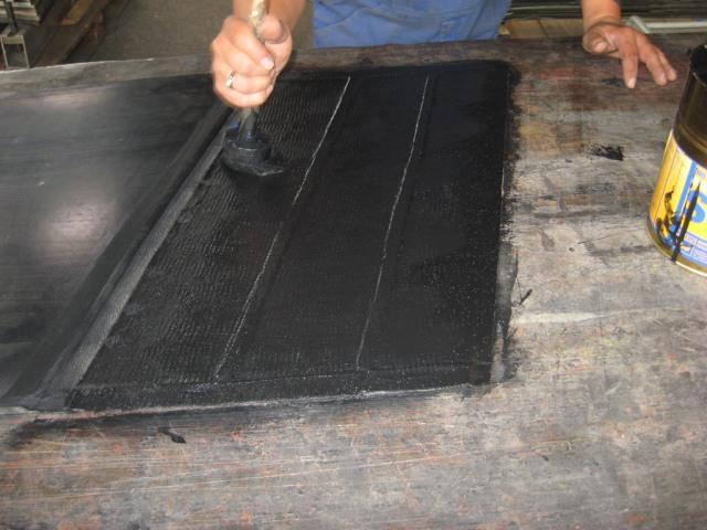 Склейка конвейерной ленты